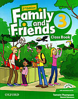 Family and Friends 3 Class Book and MultiROM second Edition
