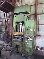 Пресс гидравлический усилием 160т ДБ 2432А
