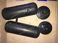 Усилители пружин пневмо (2 подушки надувные+2 отбойника) (d 74, h 215) боковой сосок