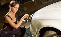 Вытягивание вмятины на кузове автомобиля без покраски