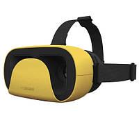 3D очки  для смартфона  (3д видео очки виртуальной реальности для смартфона 4.7 - 6 дюймов Желтые