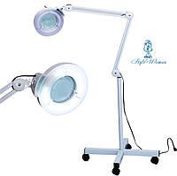 Лампа лупа косметологическая напольная
