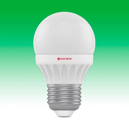 Светодиодная лампа LED 4W 2700K E27 ELECTRUM LB-10 (A-LB-0523), фото 2