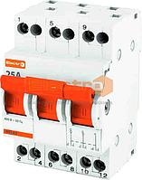 Модульный переключатель 3-х позиционный МП1-63