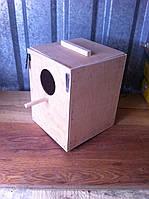 Гнездо для волнистыхпопугаев
