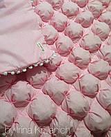 Детское одеяло - бомбон ручной работы