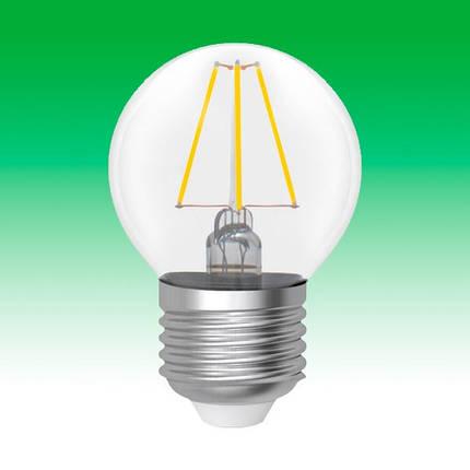 Светодиодная лампа LED 4W 2900K E27 ELECTRUM LB-4F (A-LB-0412), фото 2