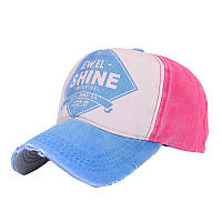 Кепка бейсболка Shine Голубая, Унисекс