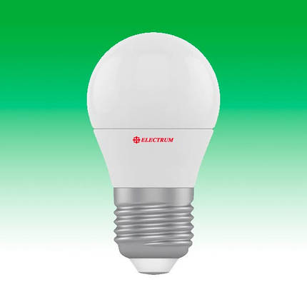 Светодиодная лампа LED 6W 2700K E27 ELECTRUM LB-9 (A-LB-1840), фото 2