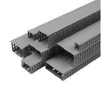 Короб перфорированный  DKS 40х40 серый (шаг 4-6мм)