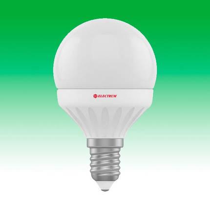 Светодиодная лампа LED 6W 2700K E14 ELECTRUM LB-12 (A-LB-0748), фото 2