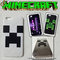 "Чехол для iPhone 4/5/6 Майнкрафт - ""Minecraft Case"" , фото 1"