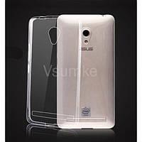 Прозрачный силиконовый чехол для Asus Zenfone 6