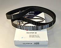 Ремень ГРМ на Renault Kangoo 1997->2008 1.9dCi (F9Q 790)  —  HH 153 HTDP 26