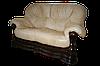 """Новый двухместный диван в коже """"Senator"""" бежевый (175см), фото 6"""