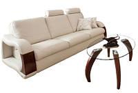 """Стильный трехместный диван c реклайнером """"ARTE"""" (214см)"""