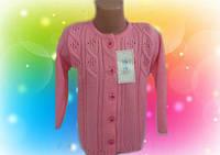Кофта вязанная для девочек р 92,98,104,110, разные цвета