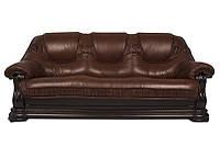 """Классический раскладной кожаный диван """"GRYZLI"""" Hup (220см)"""