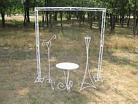 "Арка свадебная прямоугольная ""Завиток"" 2,2х2м, фото 1"