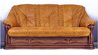 """Новый раскладной кожаный диван """"Цезарь"""" (210см)"""