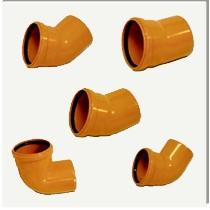 Колено (отвод) для наружной канализации