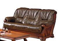 """Новинка! Классический кожаный диван """"Kardinal 5030"""" (Кардинал 5030) Индивидуальный размер, Не раскладной, ткань"""