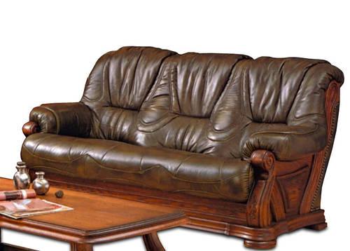 "Новинка! Классический кожаный диван ""Kardinal 5030"" (Кардинал 5030)"