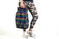 Рюкзак школьный разноцветный
