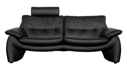 Сучасний шкіряний диван MV-07 (204см), фото 2