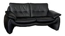 Сучасний шкіряний диван MV-07 (204см), фото 3