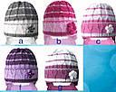 Комплект зимний: шапка и шарфик для девочки, фото 2