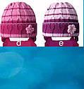 Комплект зимний: шапка и шарфик для девочки, фото 3