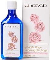 Вода розовая Елена (Икаров) 125 мл - увлажняет, освежает, тонизирует кожу лица