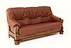 """Классический раскладной кожаный диван """"ADAM"""" (190см), фото 2"""