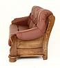 """Классический раскладной кожаный диван """"ADAM"""" (190см), фото 3"""