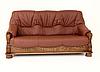 """Классический раскладной кожаный диван """"ADAM"""" (190см), фото 5"""