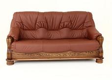 """Класичний розкладний шкіряний диван """"ADAM"""" (190см), фото 3"""
