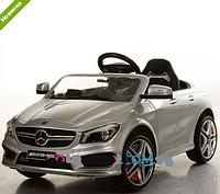 Электромобиль детский аккумуляторный Mercedes M 3183 EBRS-11, автопокраска, серебристый