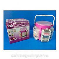 Швейный набор  210 Piezas Supercosturero Органайзер - набор для швейных принадлежностей