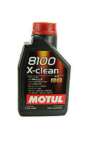 Масло моторное Motul 8100 X-clean 5W-40 1л