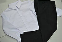 Брюки школьные,мальчик,р.110-146.Черные.
