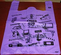 Пакет полиэтиленовый майка  кодак - ГолдСтар 37х60см, 50шт/уп (1000 шт/мешок)