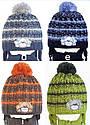 """Комплект зимний """"Собачка"""": шапка и шарфик для мальчика, фото 3"""