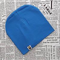 Качественная шапка ВАРЕ для детей от 8 лет  синий