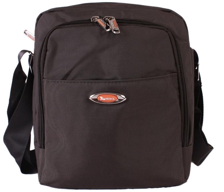 Мужская текстильная сумка 30814 черная