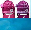 Комплект зимний: шапка с шарфиком зимняя для девочки, фото 3