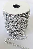 Цепь  декоративная   16*10мм  никель  №1103 (30м)  J-грань