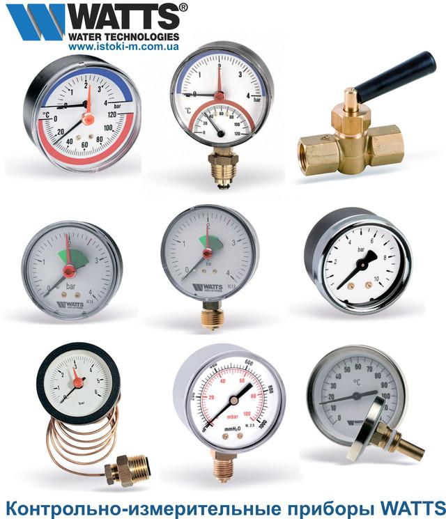 термометры, термоманометры, манометры
