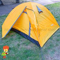 Двухтентовая палатка с двумя тамбурами легкое бу