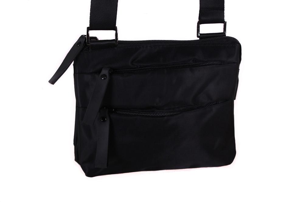 Мужская текстильная сумка 301245 черная
